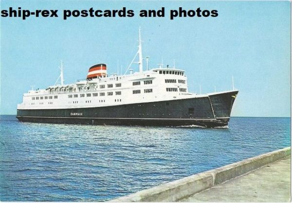DANMARK (1968, Danish State Railways) postcard (a1)